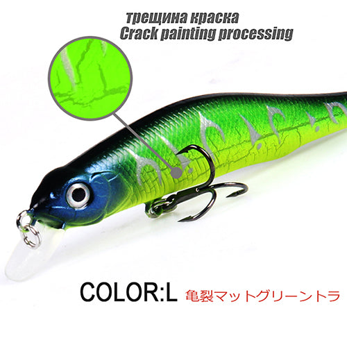 Best Retail A+ fishing Best lures, Different colors, Magnet minnow crank  80mm &  8.5g,magnetic system. bearking Newest Model crank bait