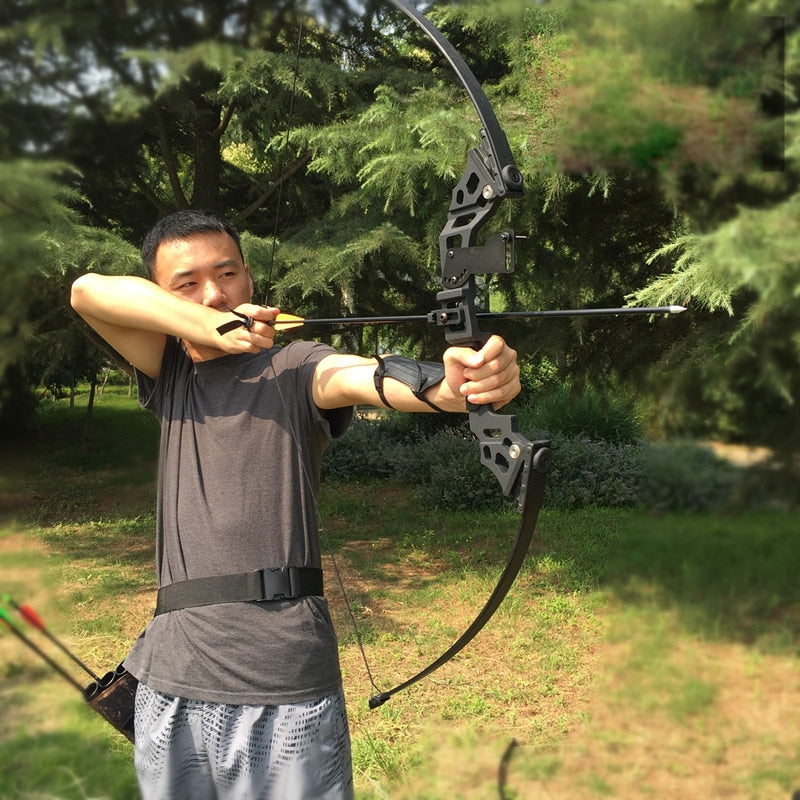 Fast Extreme Shooter Recurve Bow 30-45 lbs Professionally Powerful Hunting Archery Bow Arrow Outdoor Hunting Shooting Fishing