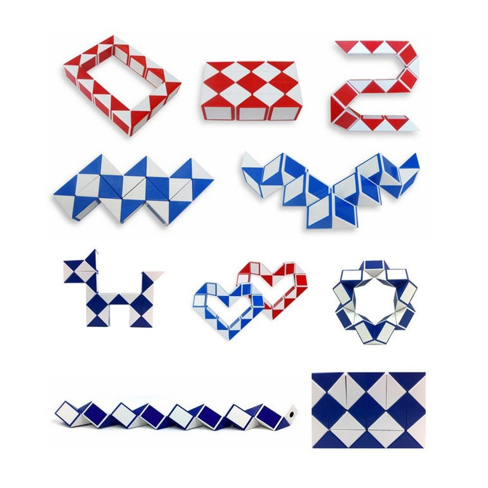 Amazing HOT SALE Cool Snake Magic Popular Twist Kids Game Transformable in many Shapes Gift Puzzle high quality Creative Toys For Kidz