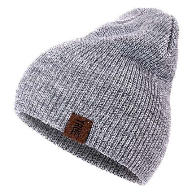 2018 Christmas Eve Top Bes True Beanies for Men's n Women's  Solid Hip-hop Beanie  Knitted Warm Winter Hat