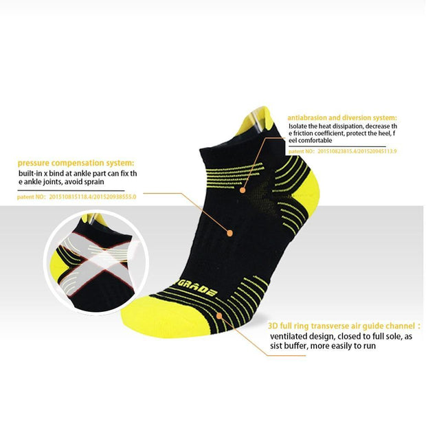 Top 2018 Best Ranking Outdoor Sport & Running Socks Athletic Training Compression Socks Cycling & Basketball Camping Hiking
