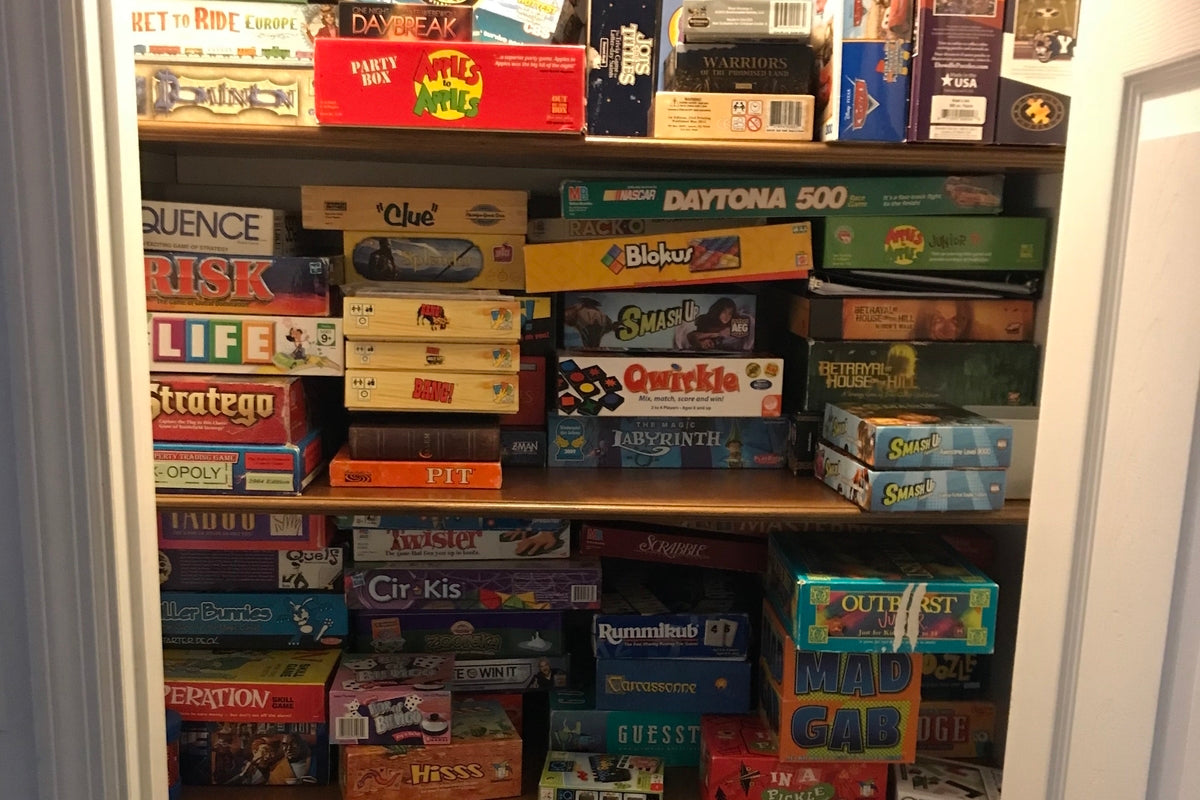 Charmant Ranking All 73 Board Games In My Parentu0027s Game Closet
