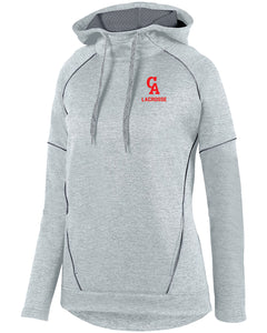 CA LAX Augusta Sportswear Ladies' Zoe Tonal Heather Hoodie
