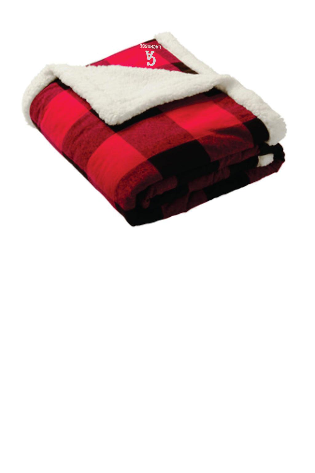 CA LAX Port Authority ® Flannel Sherpa Blanket