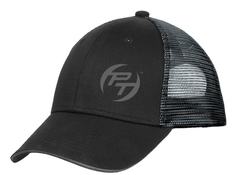 Port Authority® Double Mesh Snapback Sandwich Bill Cap
