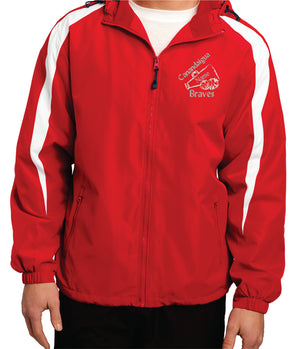 Sport-Tek® Adult Fleece-Lined Colorblock Jacket