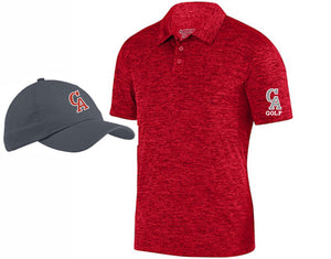 CA GOLF POLO, CAP BUNDLE