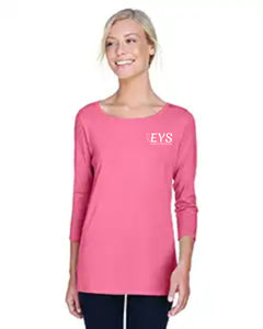 Devon & Jones Ladies' Perfect Fit™ Ballet Bracelet-Length Knit Top