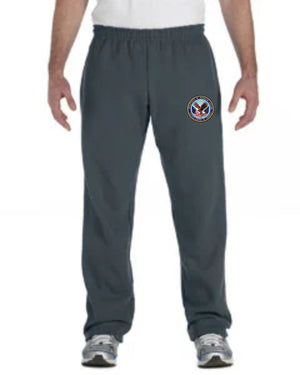 VA Gildan Adult Heavy Blend™ Adult 8 oz., 50/50 Open-Bottom Sweatpants