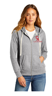 CA LAX Alternative Women's Eco-Jersey™ Cool-Down Zip Hoodie
