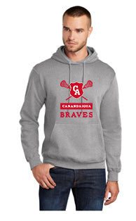 CA LAX Port & Company® Core Fleece Pullover Hooded Sweatshirt