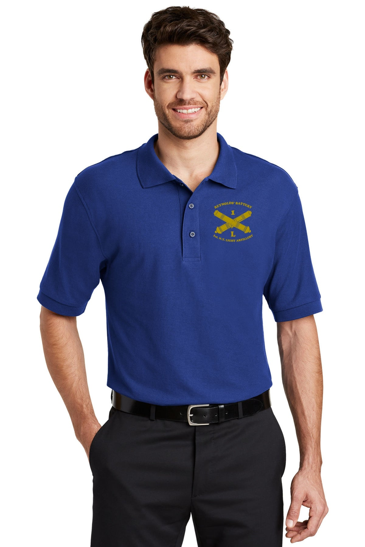 Reynolds Battery Port Authority® Silk Touch™ Polo