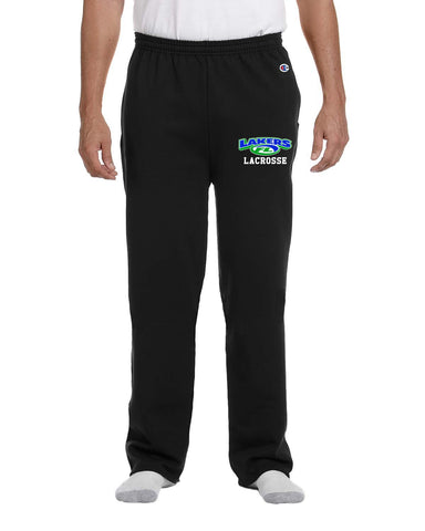 Champion Adult 9 oz. Double Dry Eco® Open-Bottom Fleece Pant with Pockets