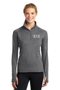 Sport-Tek® Ladies Sport-Wick® Stretch 1/2-Zip Pullover
