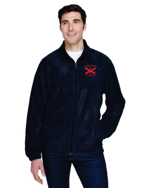 Reynolds Battery Harriton Men's 8 oz. Full-Zip Fleece