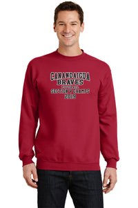 BRAVES FOOTBALL SECTION V CHAMPS CREW NECK