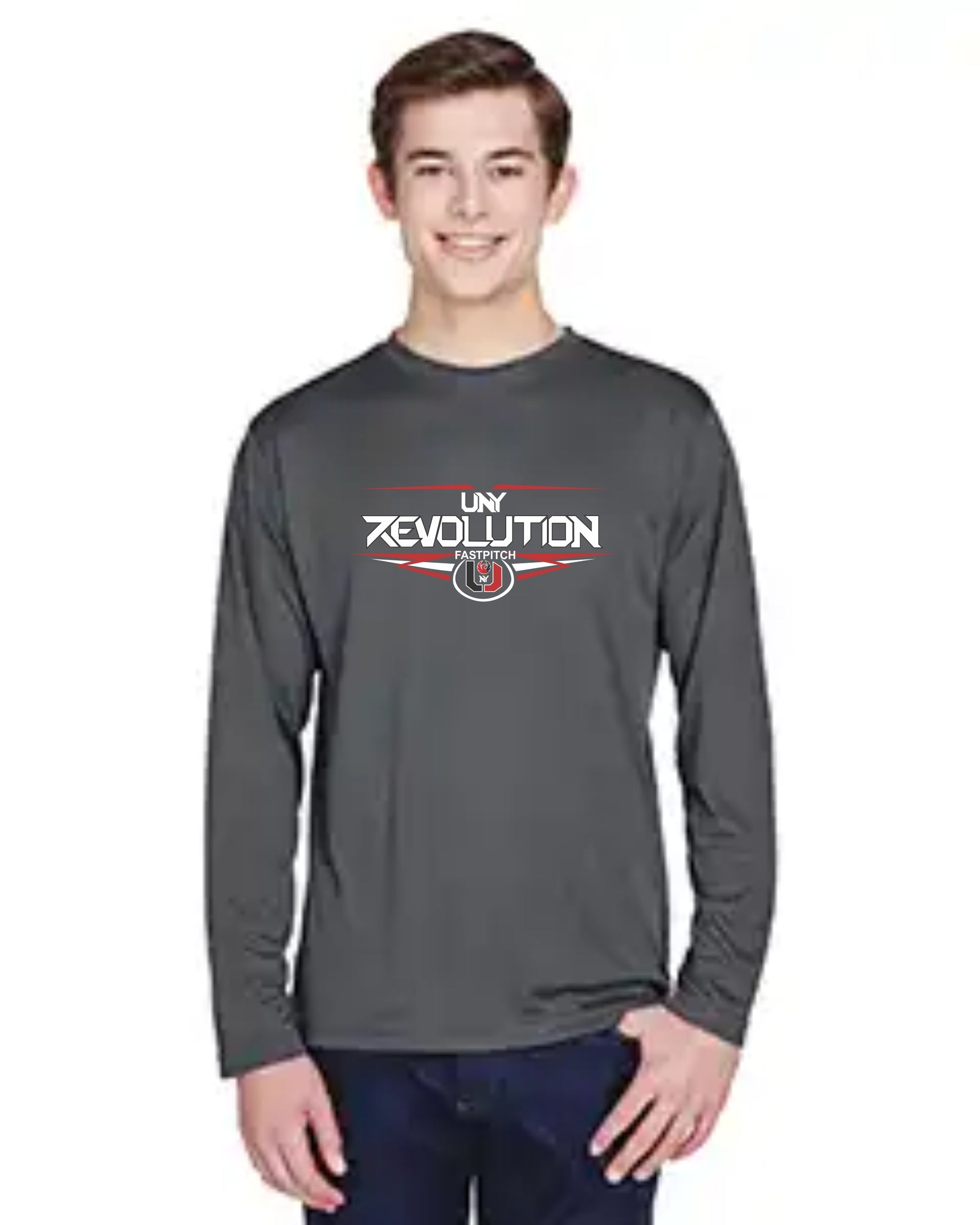 UNY Team 365 Zone Performance Long-Sleeve T-Shirt