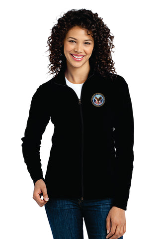 VA Port Authority® Ladies Microfleece Jacket
