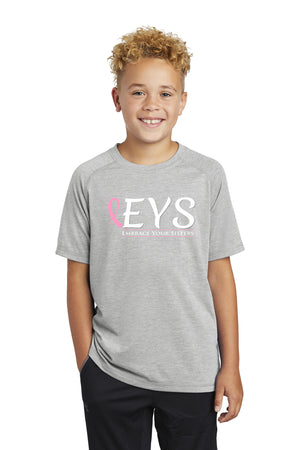 Sport-Tek ® Youth PosiCharge ® Tri-Blend Wicking Raglan Tee