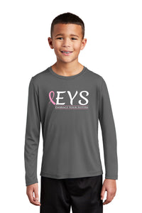 Sport-Tek ® Youth Posi-UV ™ Pro Long Sleeve Tee