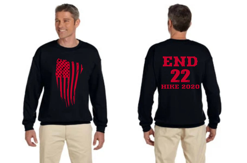 END 22 Gildan Adult Heavy Blend™ Adult 8 oz., 50/50 Fleece Crew