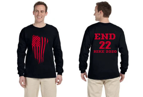 END 22 Gildan Adult Ultra Cotton® 6 oz. Long-Sleeve T-Shirt