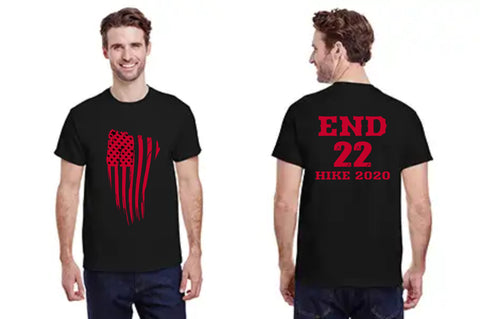 END 22 Gildan Adult Heavy Cotton™ 5.3 oz. T-Shirt
