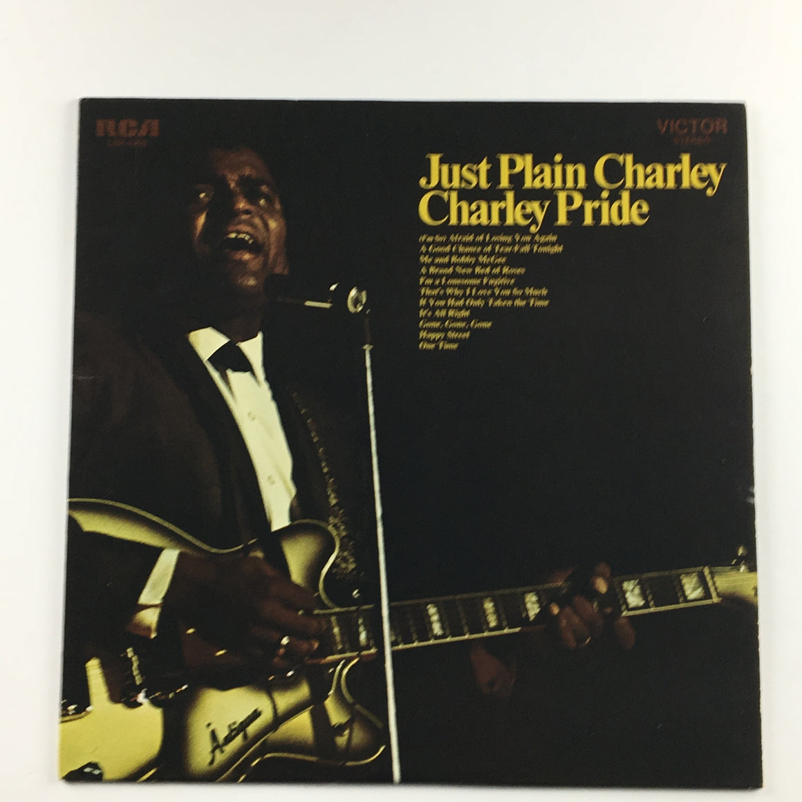 Charley Pride ‎– Just Plain Charley Orig Press Used LP VG+ LSP-4290