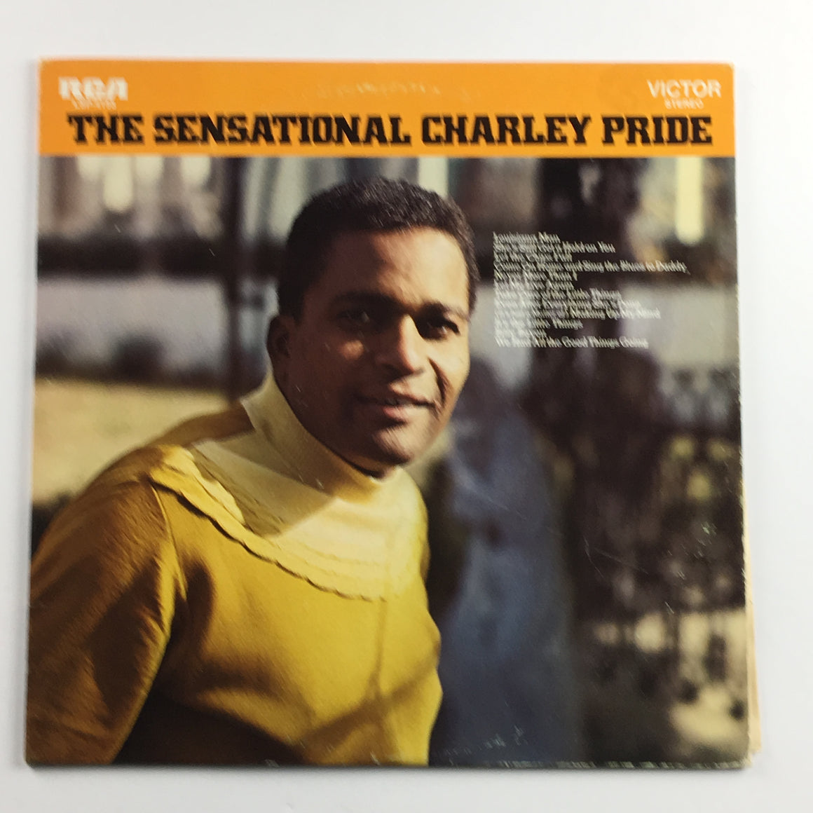 Charley Pride ‎– The Sensational Charley Pride Orig Press Used LP VG\VG+