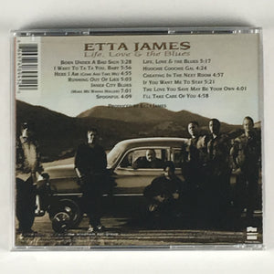 Etta James ‎– Life, Love & The Blues New Sealed CD 01005-82162-2
