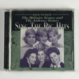 The McGuire Sisters And The Andrews Sisters Sing The Big Hits Used CD VG+