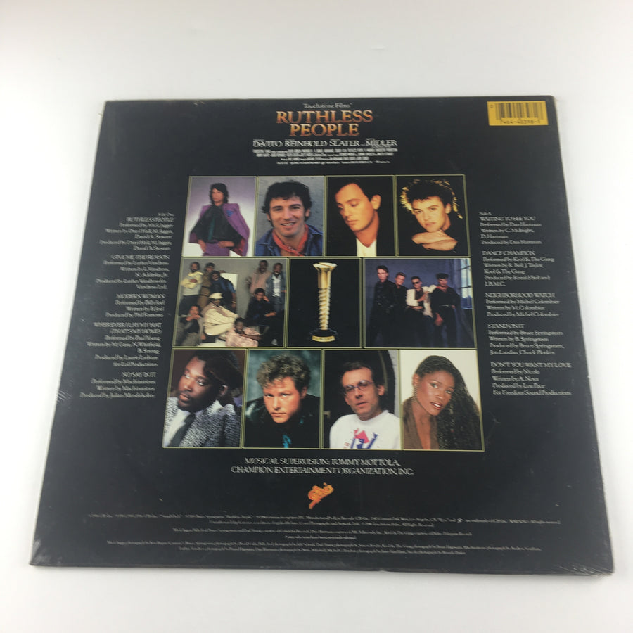 Ruthless People (Original Soundtrack) Used Vinyl LP NM\VG+ SE 40398