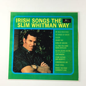 Irish Songs The Slim Whitman Way Orig Press Used Mono LP VG+ LP 9245