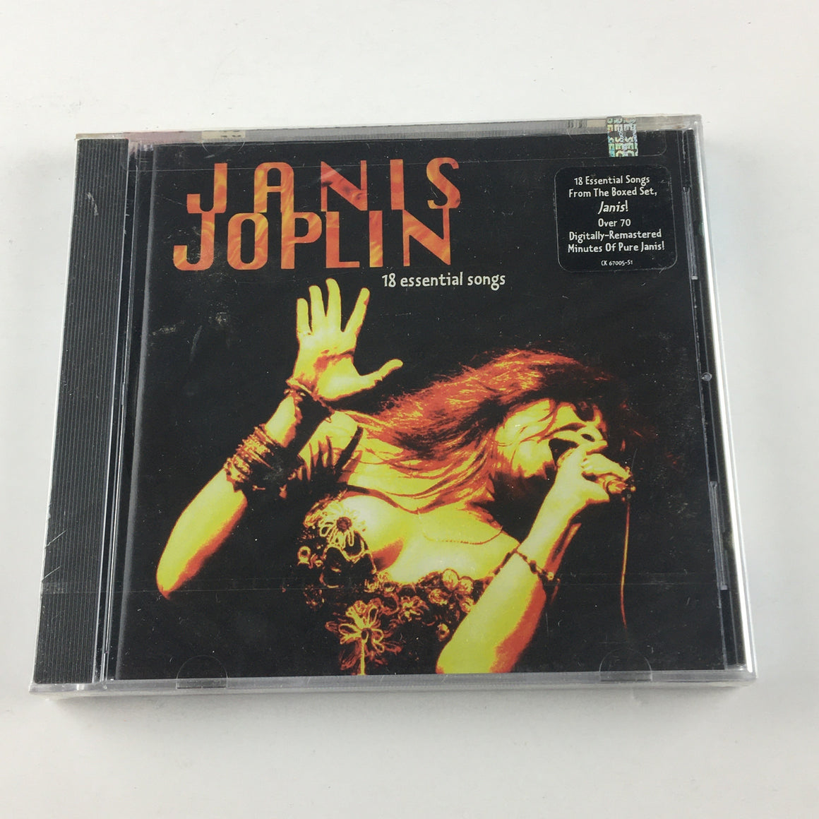 Janis Joplin 18 Essential Songs New Sealed CD M CK 67005