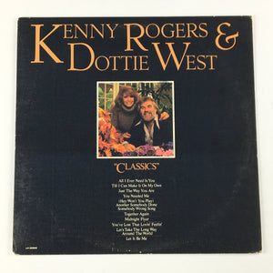 Kenny Rogers & Dottie West ‎– Classics Used LP VG LO-500946