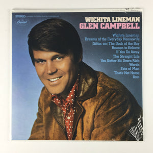 Glen Campbell ‎– Wichita Lineman New Sealed LP B0026084-01