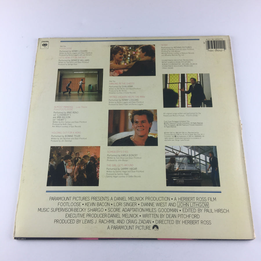 Footloose (Original Motion Picture Soundtrack) Used Vinyl LP VG JS 39242
