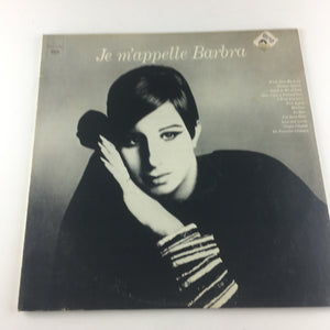Barbra Streisand Je M'appelle Barbra Used Vinyl LP VG PC 9347