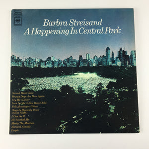 Barbra Streisand ‎– A Happening In Central Park Used LP VG\VG+  PC 9710
