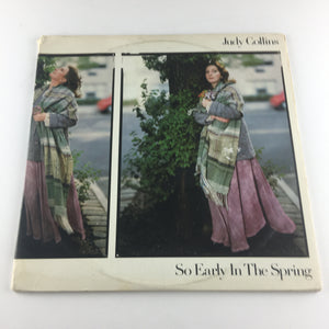 Judy Collins So Early In The Spring, The First 15 Years Used Vinyl 2LP VG+ 8E-6002