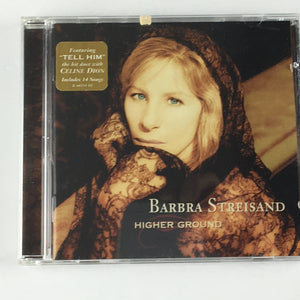 Barbra Streisand ‎– Higher Ground Orig Press Used CD VG+ CK 66181