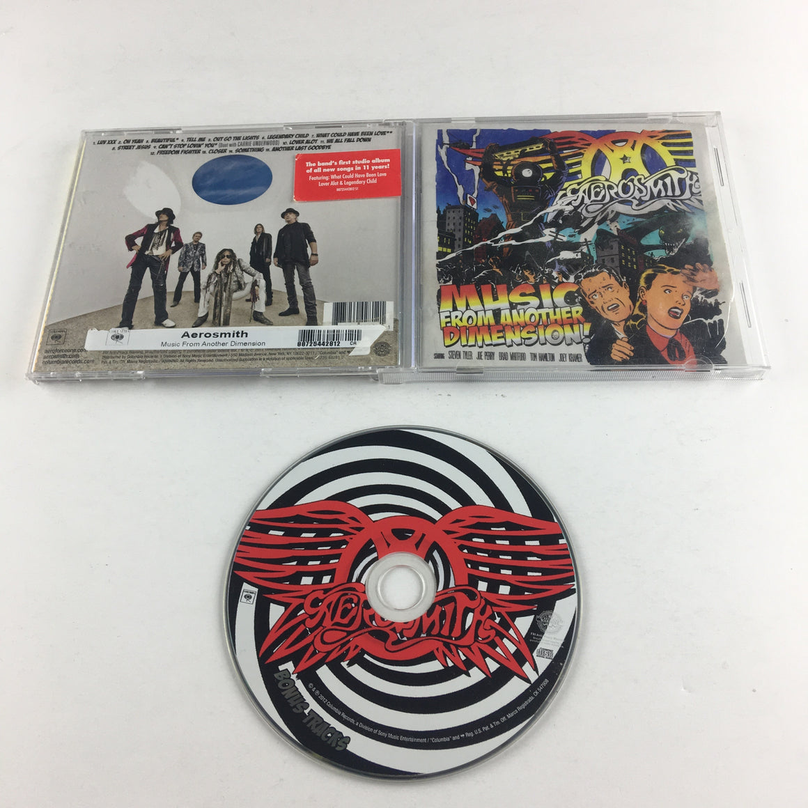 Aerosmith Music From Another Dimension! Used CD VG+ 88725 44281 2
