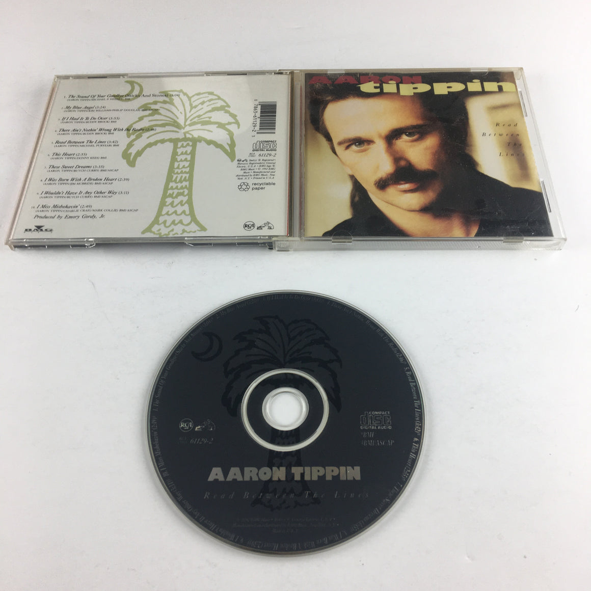 Aaron Tippin Read Between The Lines Used CD VG RCA 07863 61129-2