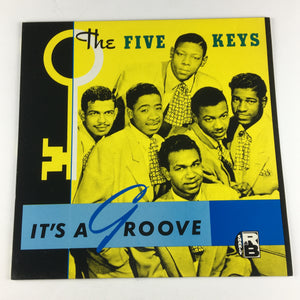 The Five Keys It's A Groove Used LP VG+ CRB 1040