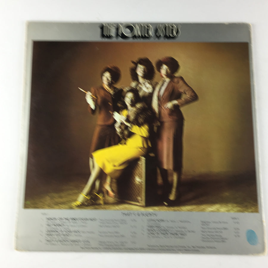 Pointer Sisters That's A Plenty Used LP VG+ BTS 6009