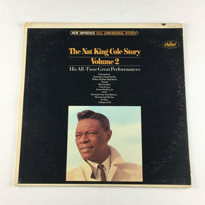 Nat King Cole The Nat King Cole Story: Volume 2 Used LP VG SW 1927