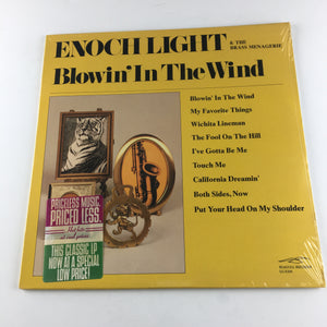 Enoch Light And The Brass Menagerie Used Vinyl LP M\VG+ PR 5036 SD