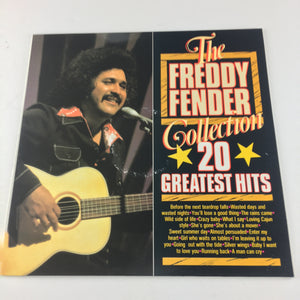 Freddy Fender 20 Greatest Hits Used Vinyl LP NM\VG+ MA 003684