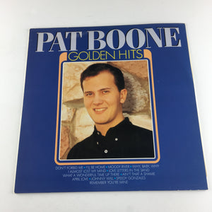 Pat Boone Golden Hits Used Vinyl LP NM MA 81285, 81285