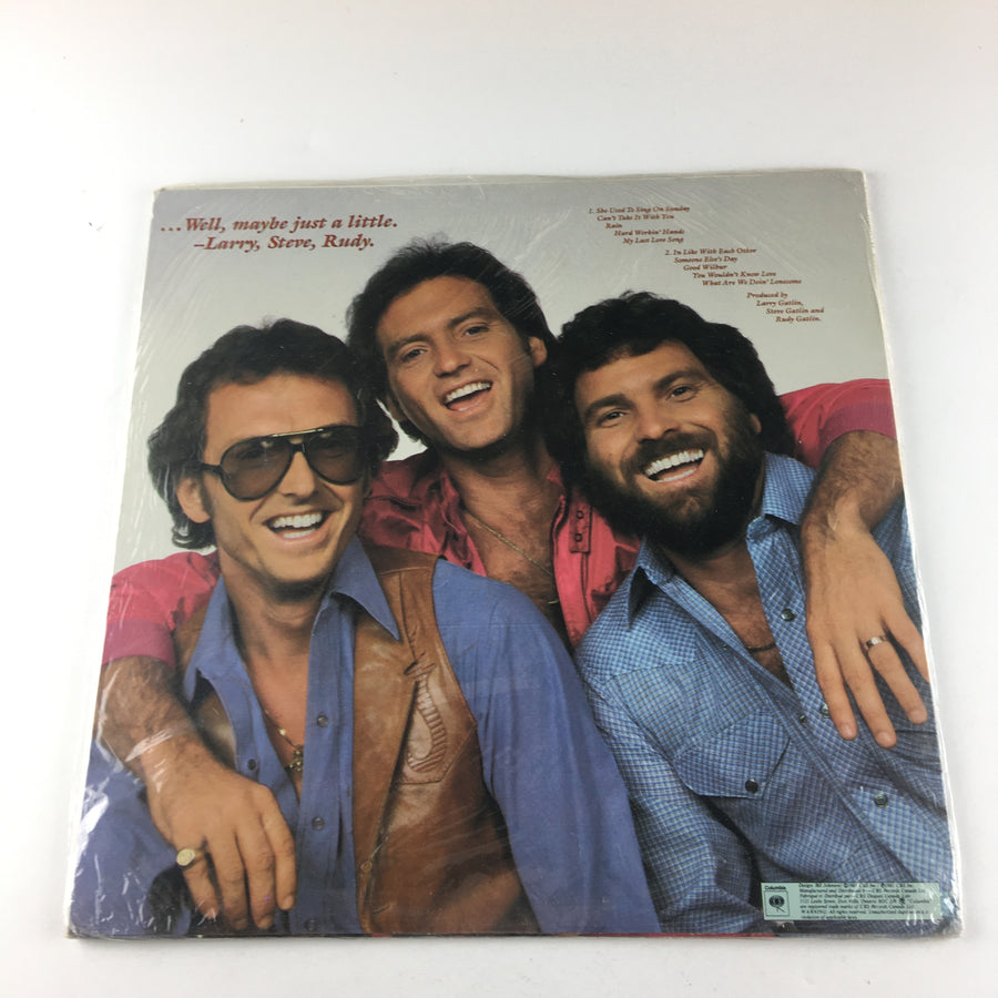 Larry Gatlin & The Gatlin Brothers Not Guilty Used Vinyl LP M FC 37464
